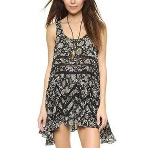 Intimately Free People | lace paisley dress ruffle